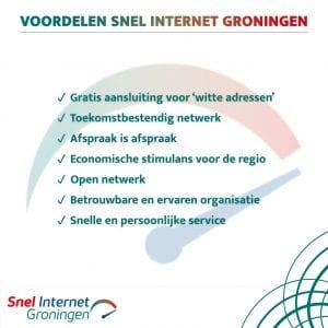Voordelen Snel Internet Groningen